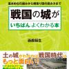 『図解 戦国の城がいちばんよくわかる本』発売!